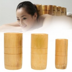 Traditionele chinese bamboe zuignapjes acupunctuur anti cellulitis massage set 3st
