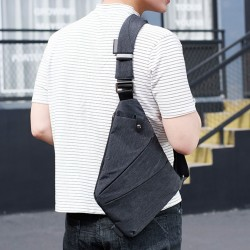 Canvas Chest Shoulder Bag
