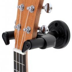 Ścienny wieszak na gitarę antypoślizgowy hak 50mm