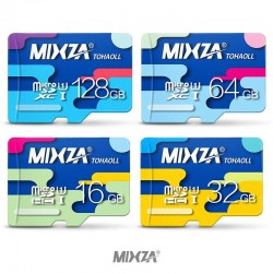 MIXZA micro SD speicherkarte klasse 10 UHS-1 32GB 64GB 128GB 256GB