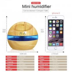 USB ultrasonic humidifier aroma diffuser 300ml