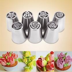 Decoration pour tarte avec forme de tulipain 7 pcs