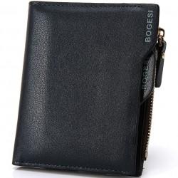Portefeuille de cuir avec slot pour cartes