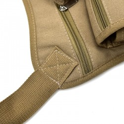 Canvas waist & leg belt bag