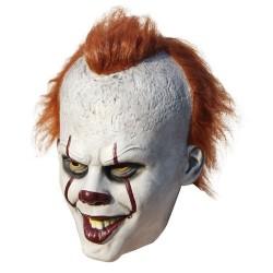 Klown lateksowa maska na halloween