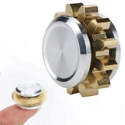 Mini koło zębate metalowy ręczny fidget spinner