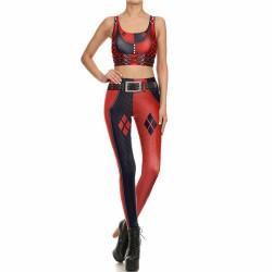 3D super hero damski kostium na halloween