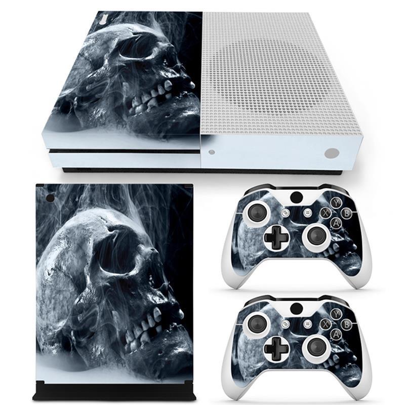 Xbox One Slim S Konsola Kontroler Ochronna Winylowa Naklejka