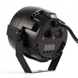 R-L-089 12x3W flat LED Par RGBW DMX512 Disco Lamp Stage Light Pojector Dmx Controller