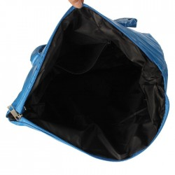 Waterproof nylon shoulder bag