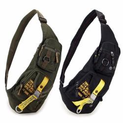 Wodoodporna nylonowa crossbody torba plecak na ramię