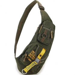 Wodoodporna nylonowa crossbody torba na ramię - plecak