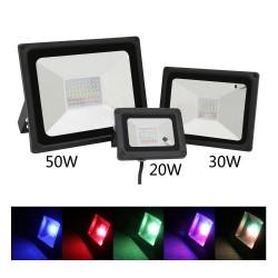 Lampada a inondazione impermeabile 20W 30W 50W RGB LED IP65