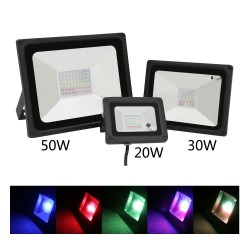Lampe à projection impermèable 20W 30W 50W RGB LED IP65