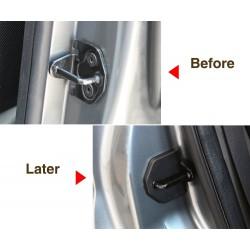 Autotürschloss Schutzabdeckung Korrosionsschutz für Ford Focus 2 2005-2013 4-tlg