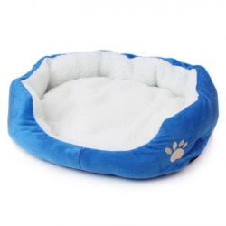 Komfortowe miękkie łóżko dla psa kota