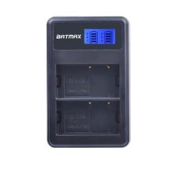 Dual-LCD-USB-Ladegerät für DMW-BLF19 BLF19E BLF19GK BLF19PP DMC-GH3 GH3A GH3AGK