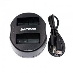 Chargeur batterie dual USB pour DMW-BLC12 DMWBLC12 BLC12 BLC12PP Panasonic Lumix FZ1000 FZ200 FZ300 G5