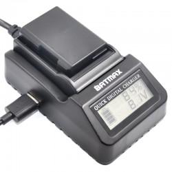 cargador baterìa multiuso digital EN-EL14 LCD para Nikon