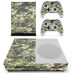Adhesivos decorativos camouflage para Xbox One S Console