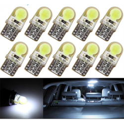 Bombilla coche T10 W5W LED COB 10 pcs