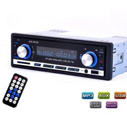 Autoradio Bluetooth - audio stéréo - Lecteur MP3 - USB - 4*60W
