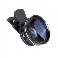 Kit lenti per fotocamera grandangolo iPhone 6 Plus 5S 4S Samsung S6 S5 Note 4 HD