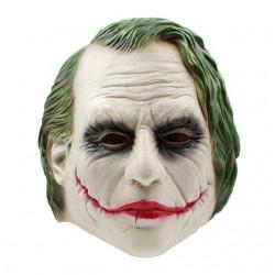 Joker cała głowa lateksowa maska na halloween