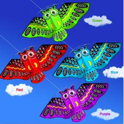 Kolorowa sowa latawiec 110 * 50cm