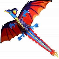 Cerf-volant dragon colorè 140 * 120cm