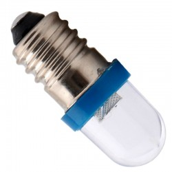 Luci per auto E10 F8 1SMD 12V LED 100 pcs