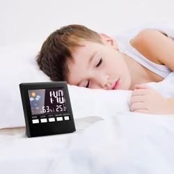 Sveglia orologio digitale LCD