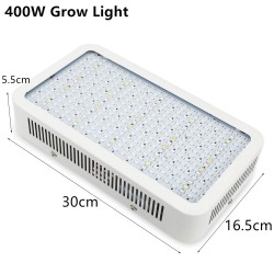 Lampe pour plantes Full Spectrum 1600W LED UVIR AC85265V SMD5730