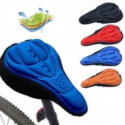 3D silikonowy pokrowiec poduszka na siodełko rowerowe