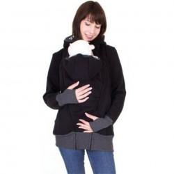 Kangoeroe buidel hoodie jas babydrager met capuchon