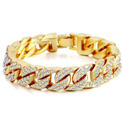 Złoto & srebro bransoletka unisex