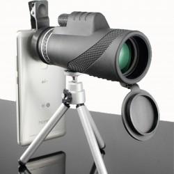 Telescopio mono oculare potente con visione notturna 40 x 60 HD