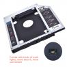 Universal aluminum SATA HDD Caddy 12.7mm box case enclosure optical bay
