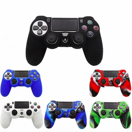 Cover con grips para pulsantes de silicona para controller PS4 Playstation