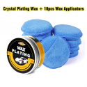Crystal car polishing wax scratch repair with sponge
