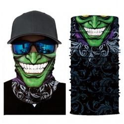 Motorfiets Skull Joker sjaal gezichtsmasker bivakmuts