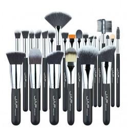 Zestaw profesjonalnych pędzli do makijażu 24 szt