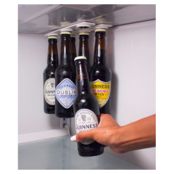 Bottle & jar magnetic holder hanger fridge strips