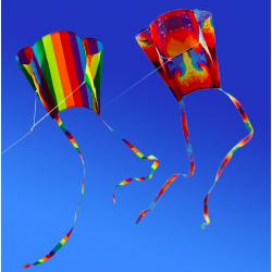 Zewnętrzny kolorowy latawiec