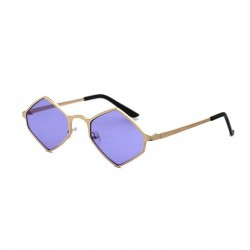 Metal frame vintage steampunk sunglasses
