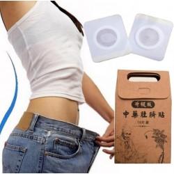 Abnehmen Bauchnabel Aufkleber verlieren Gewicht fettverbrennende Pflaster 10 Stück