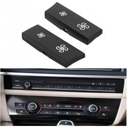 BMW F10 - F11 ventilator bediening - vervangende knoppen kapjes 2 stuks