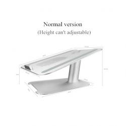 Supporto per laptop regolabile in lega di alluminio