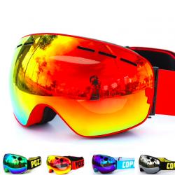 Gafas snowboard dobles antiniebla UV400