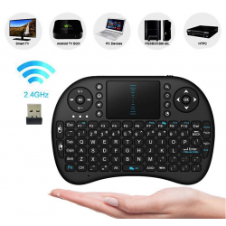 Android TV Box- PC Bluetooth Clavier Touchpad Sans Fil